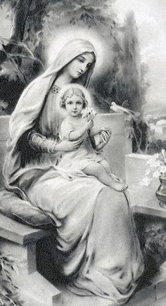 Religious Pictures, Jesus Pictures, Blessed Mother Mary, Blessed Virgin Mary, Catholic Art, Religious Art, Roman Catholic, Immaculée Conception, La Salette