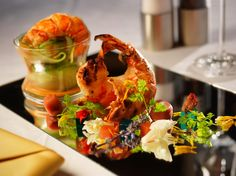 Jumeirah Dhevanafushi Resort, Maldives - Azara Restaurant - Food