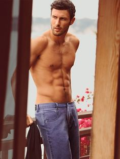 "Noah Mills. Model and star of Taylor Swift video ""We are Never Ever Getting Back Together"". Don't be hasty, Taylor..."