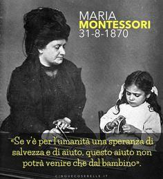 144 anni dalla nascita di Maria Montessori