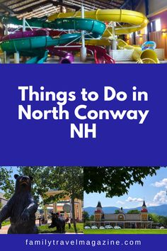 North Conway, New Hampshire is one of the best summer vacation destinations in the Northeast. Read about what to do in North Conway NH including where to stay, what to do, and restaurants. North Conway Nh, Best Summer Vacations, Stuff To Do, Things To Do, New Hampshire, Rhode Island, Vacation Destinations, Travel With Kids, Outdoor Activities