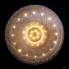 willowlamp, contemporary chandelier, bespoke lighting, sculptural lighting