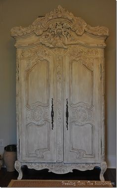 french country armoire -STUNNING
