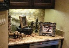 I am so doing this in my wine area! i cant believe I never thought of this! :) Cork backsplash 25 DIY Wine Cork Craft Project Ideas