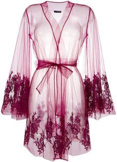 Sarrieri lace-embroidered night gown I.Sarrieri lace-embroidered night gown I. Red Lace Lingerie, Lingerie Gown, Lingerie Outfits, Pretty Lingerie, Beautiful Lingerie, Lingerie Set, Lingerie Sleepwear, Elegant Lingerie, Silk Sleepwear