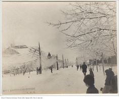 Was browsing the Toronto Archives and put together a collection of vintage Toronto winter photographs from ca. 1890 - 1950 of past snowfalls in Toronto. Toronto Snow, Toronto Winter, Toronto Ontario Canada, Vintage Photographs, Vintage Photos, Winter Storm, Old Photos, Past, City
