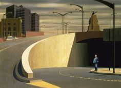 Jeffrey Smart, Cahill Expressway,1962