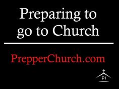 Prepping for Church?!? | Ed That Matters