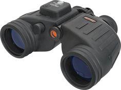 Celestron - Oceana 7 x 50 Marine Binoculars with Illuminated Compass - Black