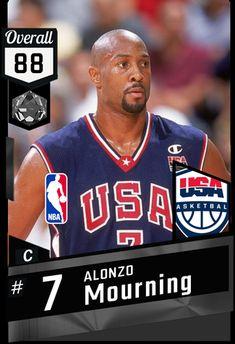 Love And Basketball, Basketball Teams, Alonzo Mourning, Nba Jam, Basketball Information, Nba Stars, 9 Year Olds, Nba Players, Custom Cards