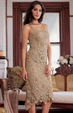 Fiori per un vestito beige