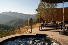 Landscape Hotel by Vivood Landscape Hotels. It's located in the valley of Guadalest, close to Alicante, Spain.