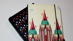 Hard Cover Notebook Ice cream castle