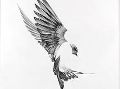 """""""Flight"""" by Von - Tattoo Design"""