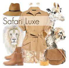 """Safari Luxe - 080516"" by vixen-vixen ❤ liked on Polyvore featuring Leftbank Art, Prouna, Kathy Jeanne, Mollini, Dolce&Gabbana, rag & bone, Humble Chic, Carrera y Carrera and Marissa Webb"