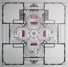 hmc project kantoor 'definitieve plattegrond'