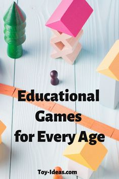 Toy Ideas: Educational Toys For Kids