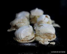 La Cocina de las Casinas: Merengues rellenos de Crema de Mantequilla