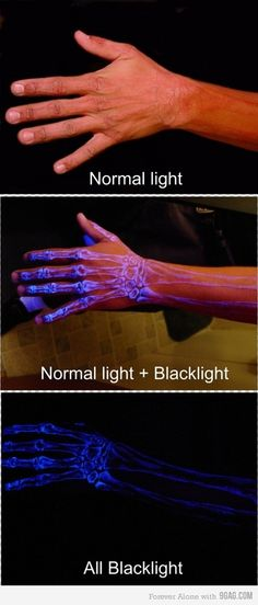 black light tattoo, might actually do this!