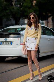 STYLE DU MONDE / Milan Men's SS16 Street Style: Eleonora Carisi  // #Fashion, #FashionBlog, #FashionBlogger, #Ootd, #OutfitOfTheDay, #StreetStyle, #Style