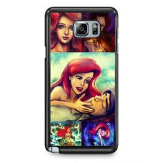 Ariel The Little Mermaid Story TATUM-939 Samsung Phonecase Cover Samsung Galaxy Note 2 Note 3 Note 4 Note 5 Note Edge