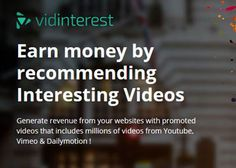 Earn Money Online By Recommending Interesting Videos