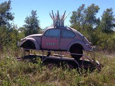 Pink Princess VW Bug Barbie Cars, Volkswagen, Pink Teapot, My Favorite Color, My Favorite Things, Pink Jeep, Pink Truck, Beetle Juice, Pink Cars