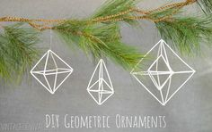 Geometric Himmeli Wreath 2.0 - Vintage Revivals