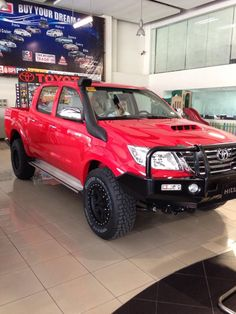TOYOTA HILUX 4x4 dressed up