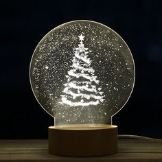 Purchase Christmas Panel Acrylic LED Christmas Tree Lamp Night Light Desk Gift from Yuanzala on OpenSky. Best Christmas Gifts 2018, Christmas Presents For Him, Led Christmas Tree, Cheap Christmas Gifts, Christmas Gifts For Mom, Christmas Ideas, Christmas Decor, Best Gift For Girlfriend, Christmas Gifts For Girlfriend