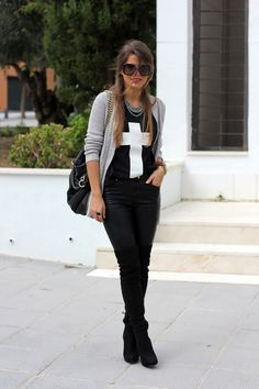 Leatherette | Be inspired by the people in the street! www.streetstylecity.blogspot.com