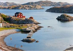 Tjorn, Bohuslän Sweden. My great grandpa was born on Tjorn and my great grandma was born on Tjornekalv.