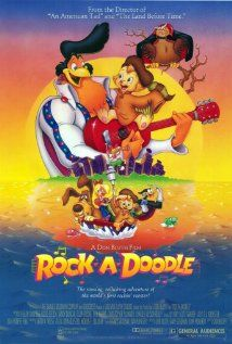 Rock-A-Doodle. I love netflix!! Did not realize as a kid that freakin Glen Campbell is Chanticleer's voice.