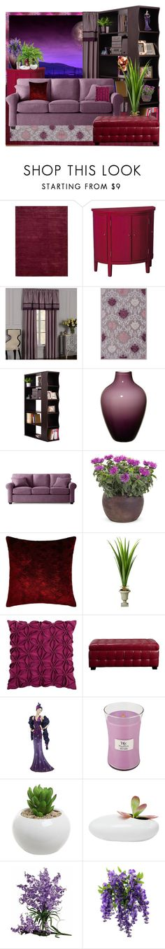"""Purple Wild again"" by nefertiti1373 ❤ liked on Polyvore featuring interior, interiors, interior design, home, home decor, interior decorating, Calvin Klein, Pulaski, Jaipur Living and Hokku Designs"