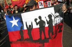 11 09 1973 Control Social, Flag, Country, Logos, Change, Civil Disobedience, Santiago, Favors, Rural Area