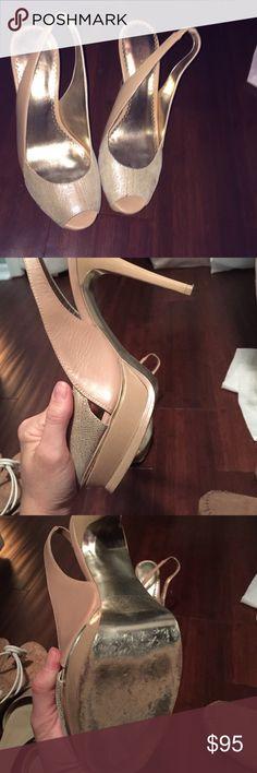 Bebe heels- like new Bebe heels- like new bebe Shoes Heels
