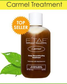 E'TAE Natural Products - Carmel Deep Reconstructing Treatment Deeply Moisturizes, Softens and Protects Creates volume and body Etae Hair, Afro Hair, Carmel Hair, Deep Conditioning Treatment, Deep Conditioner, Diy Hairstyles, Natural Hair Styles, Moisturizer, At Least