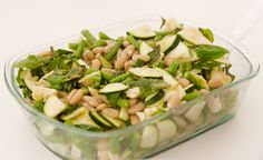 Zucchini and Bean Salad, Wholeliving.com