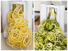 DIY zucchini noodles
