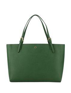 Tory Burch Saffiano Leather York Shopping Bag