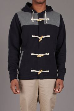 Duffle Coat - would look awesome on Trace!
