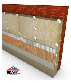 1000 images about wall insulation on pinterest for Mineral wool wall insulation