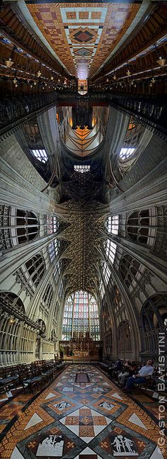 Gloucester Cathedral or the Cathedral Church of St Peter and the Holy and Indivisible Trinity, England