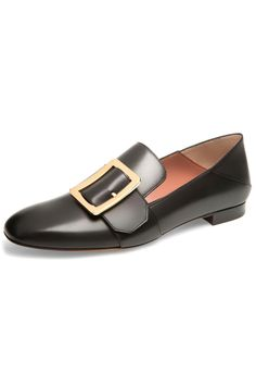 36161c76093a Bally Janelle Loafer in Black Black Leather Loafers