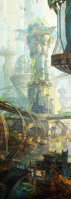 Nuevo Guayaquil/New Angeles, Kirsten Zirngibl on ArtStation at…A…