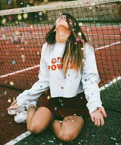 #confeti #pista de tenis #tenis
