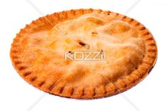 apple pie. - Close-up of an apple pie.