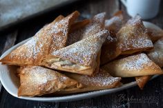 Simply Caramel and Chocolate Turnovers from Barbara Bakes