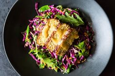 Snow Pea, Cabbage, and Tempeh Salad