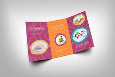 """""""Curs de modelaj"""" Folded Brochure on Behance"""